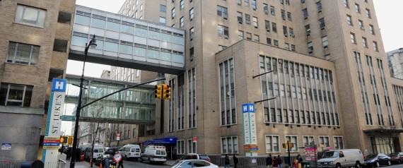 St. Luke's-Roosevelt Hospital is seen in